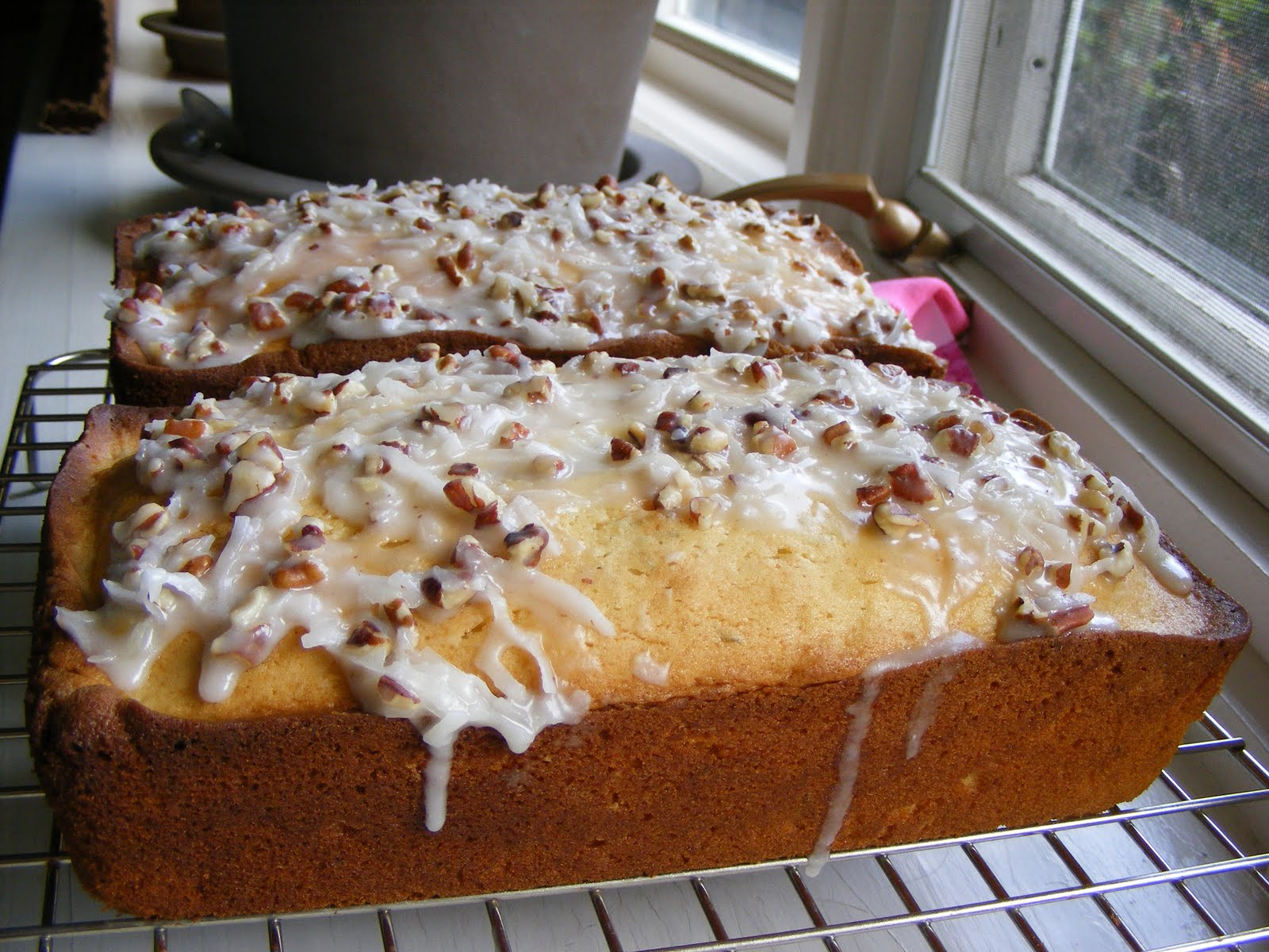 The Virtual Goody Plate Key Lime Bread With Coconut Pecan