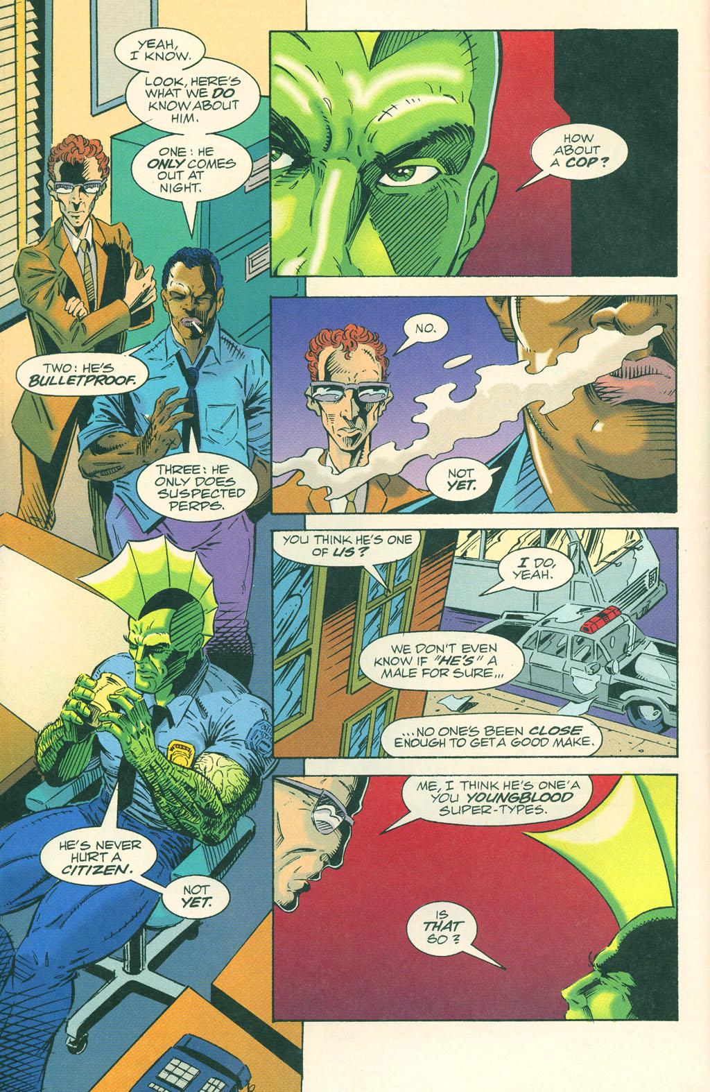 Read online ShadowHawk comic -  Issue #4 - 5