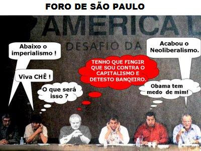A turma anti-democrática do Foro de São Paulo