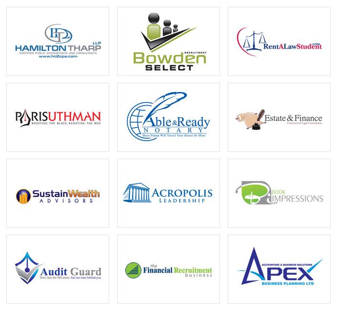 Custom Logo Design by LogoProDesign: Accounting Logo Design