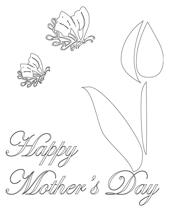 Disegni Festa Della Mamma Da Colorare E Stampare