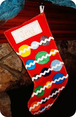 Felt Christmas Stocking Pattern