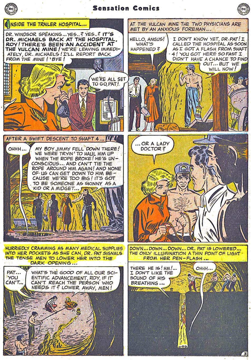Read online Sensation (Mystery) Comics comic -  Issue #96 - 19
