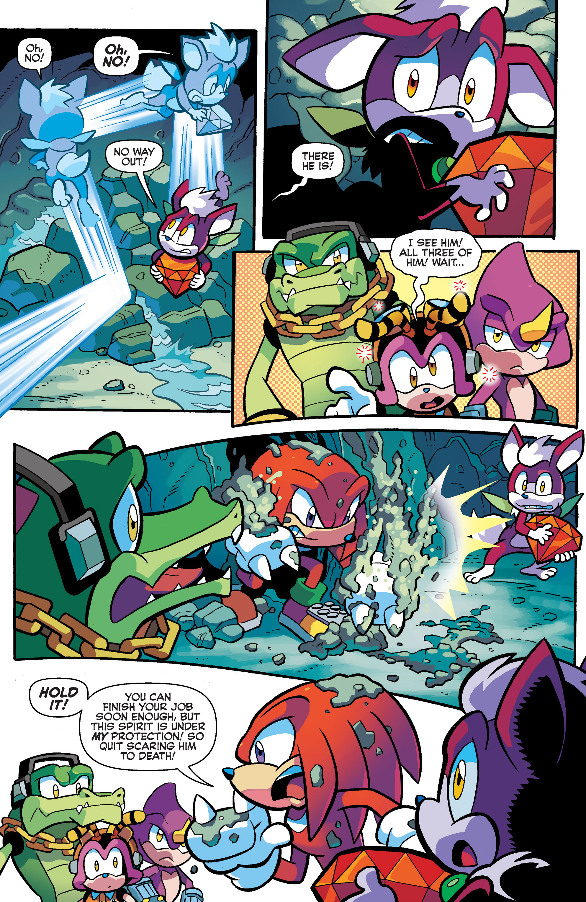 Read online Sonic Universe comic -  Issue #65 - 6