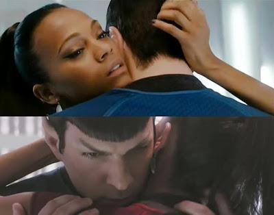 lieutenant uhura and spock relationship