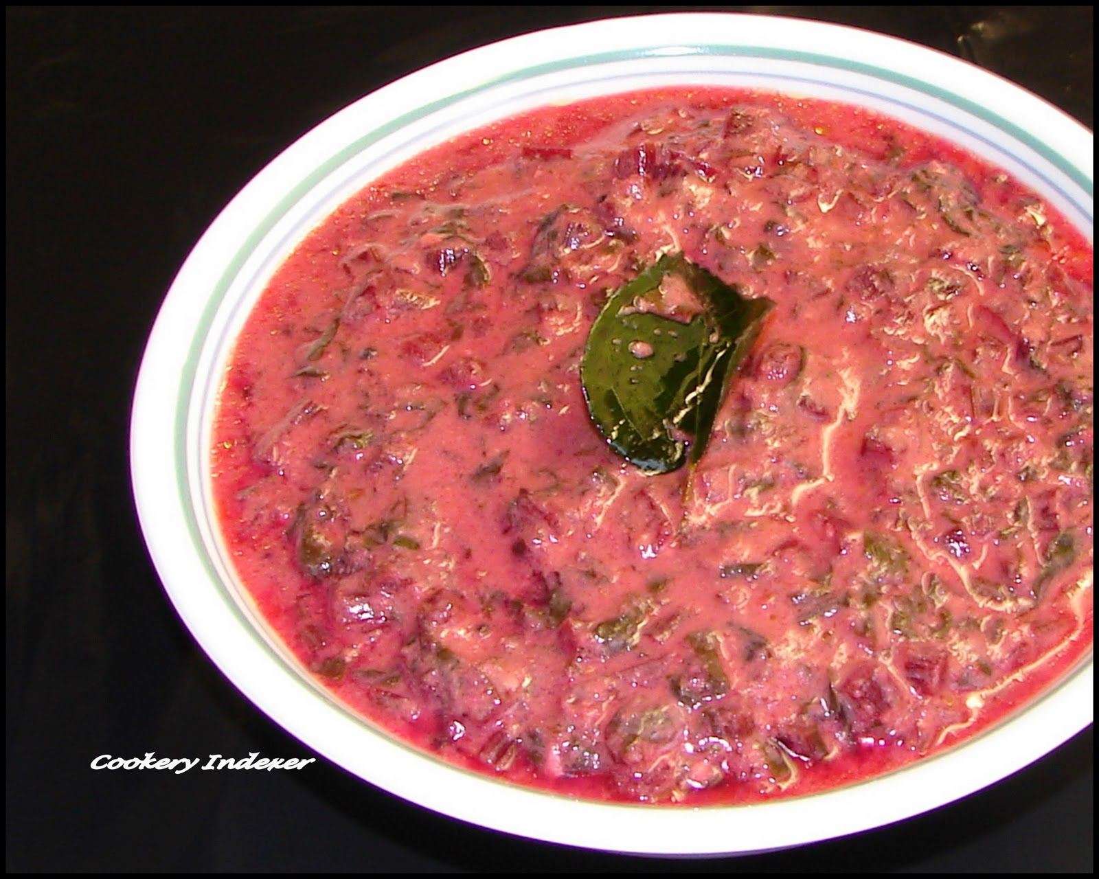 Cuisines Similar To Indian Regional Indian Cuisine Blogroll Beet Greens In Yogurt Gravy