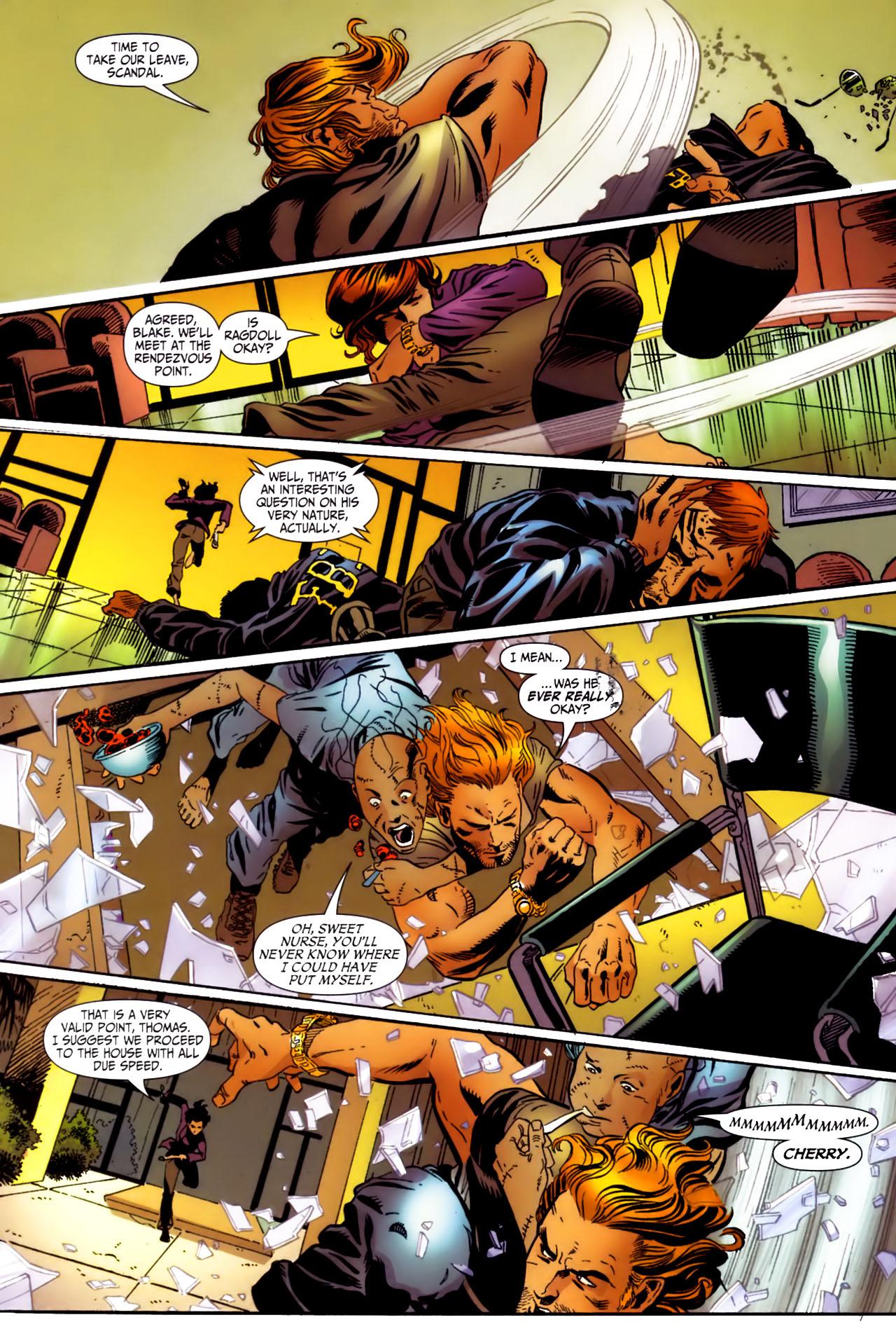 Read online Secret Six (2006) comic -  Issue #3 - 6