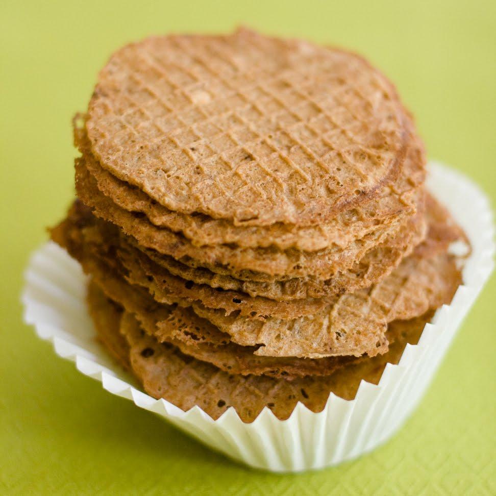 Italian Chocolate Wafer Cookies
