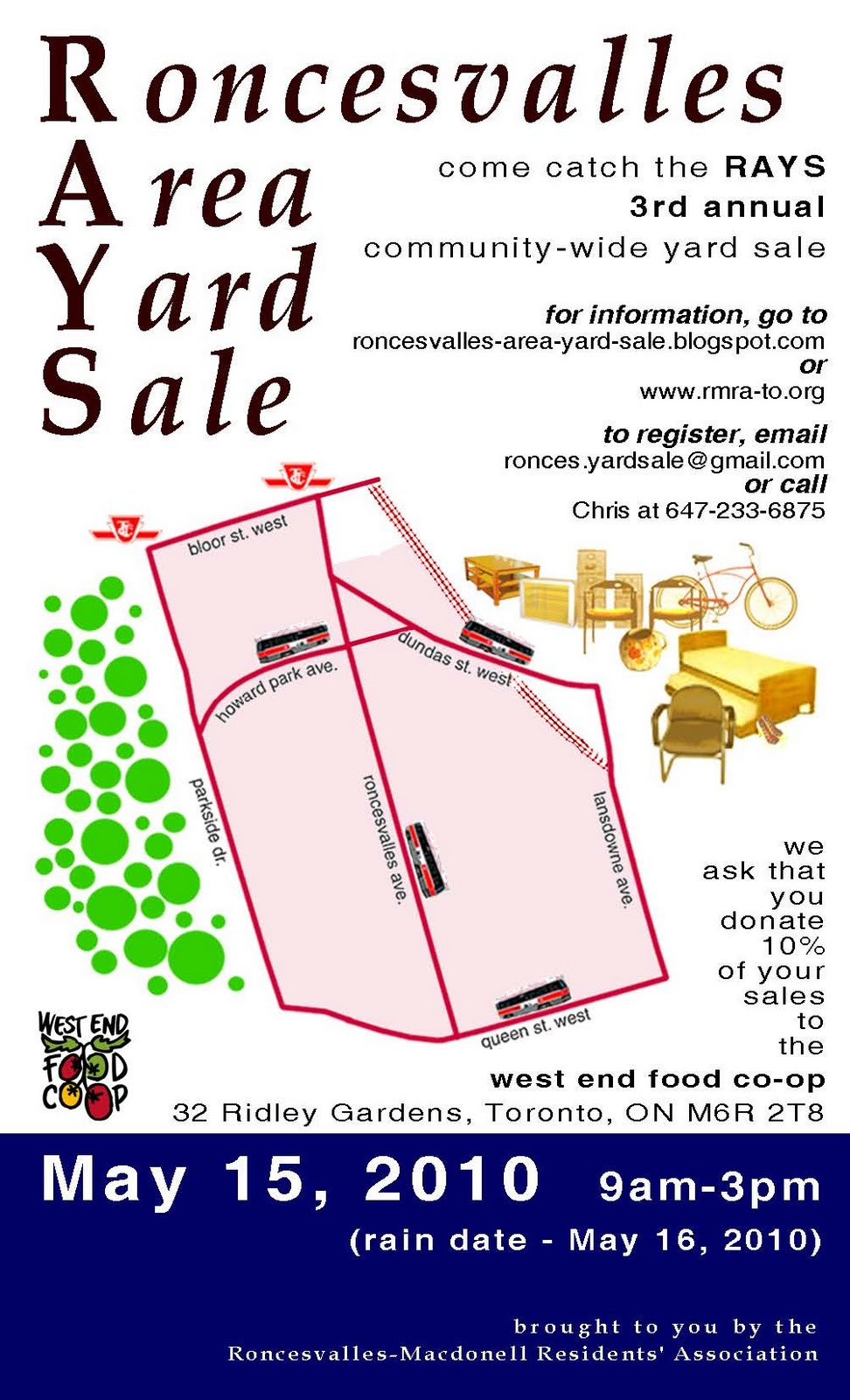 Roncesvalles Area Yard Sale (RAYS!)