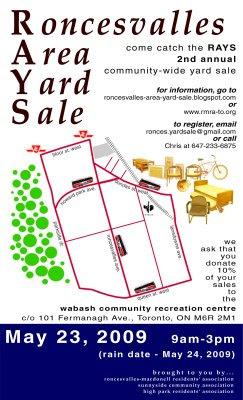Roncesvalles Area Yard Sale