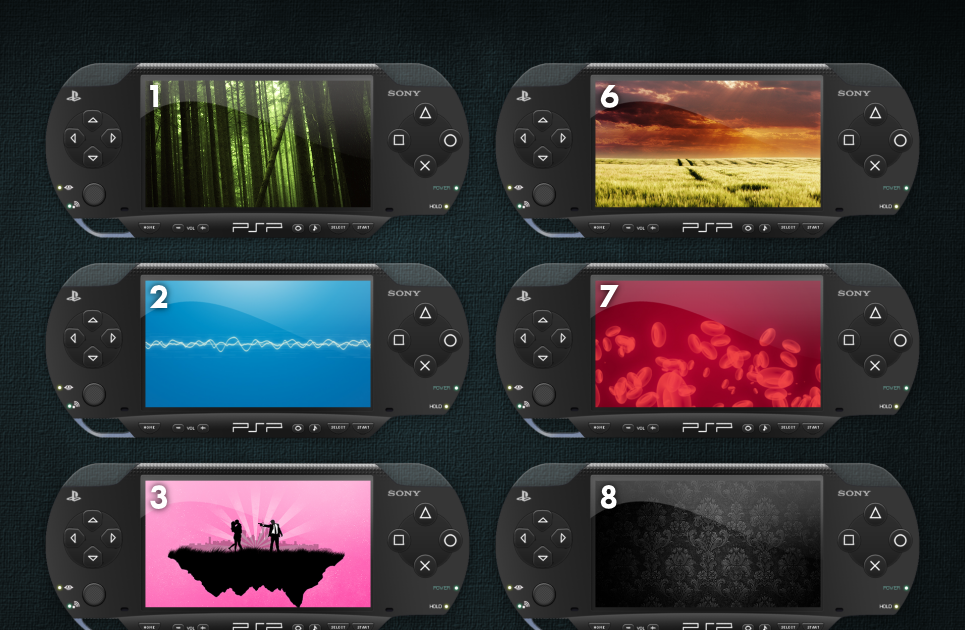 Free psp themes to download - PSP THEMES