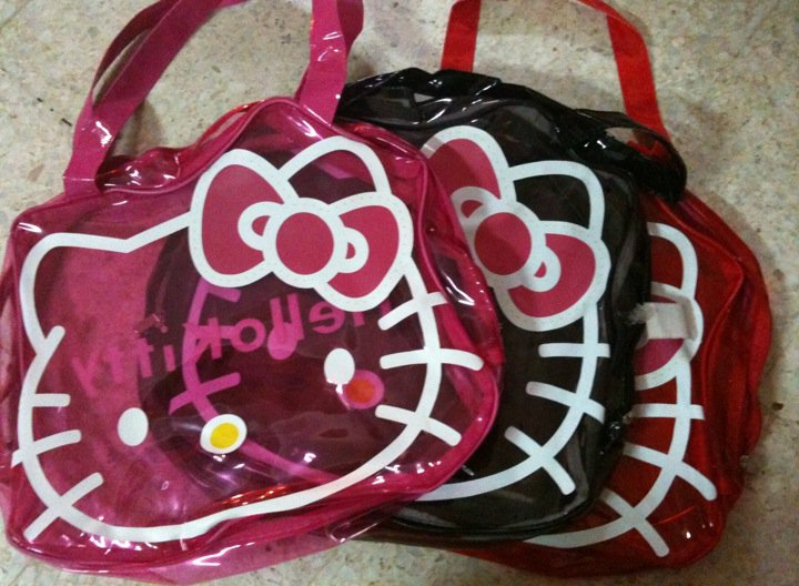 fc29f46e22f6 WELCOME TO HELLO KITTY PAGES  Hello Kitty Transparent Bag RM 45