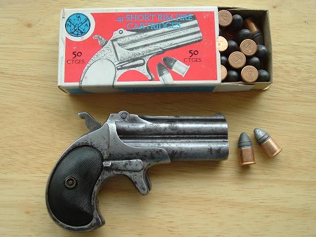 The Next Chapter: Remington Double Derringer  41 Rimfire