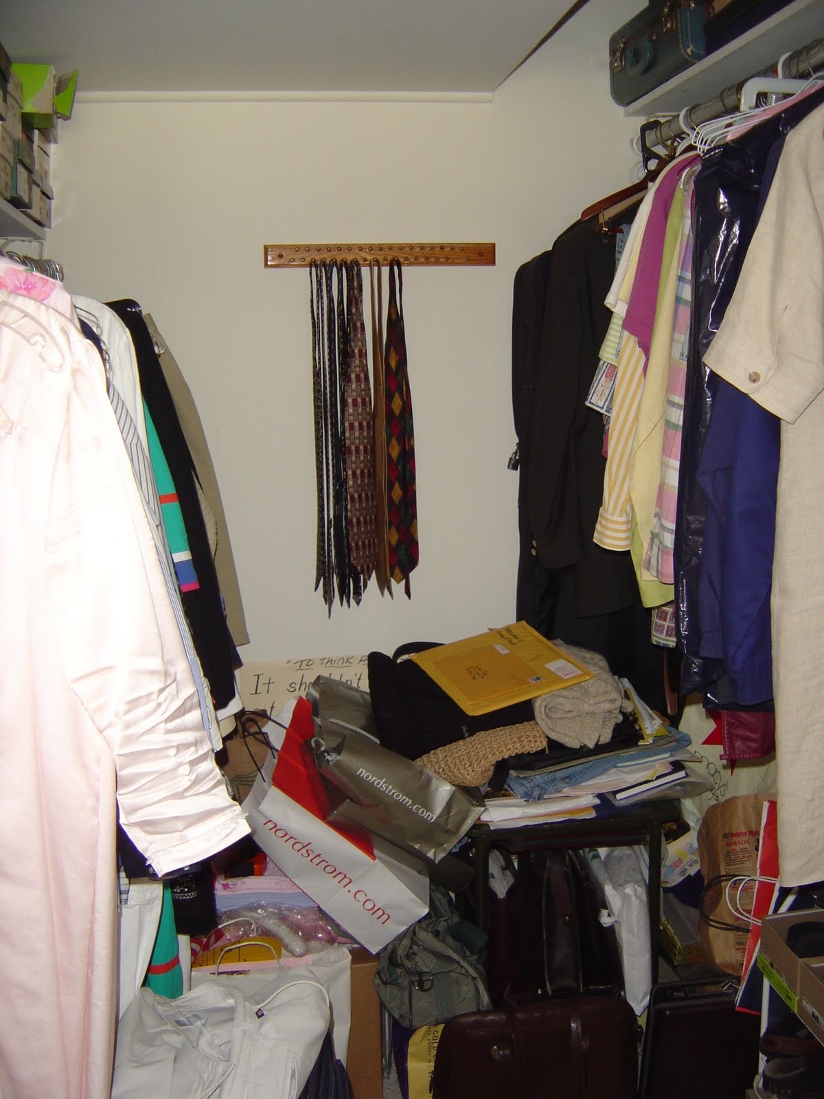 organize small bedroom closet bedroom closet clean up part 1 organizing made 16573