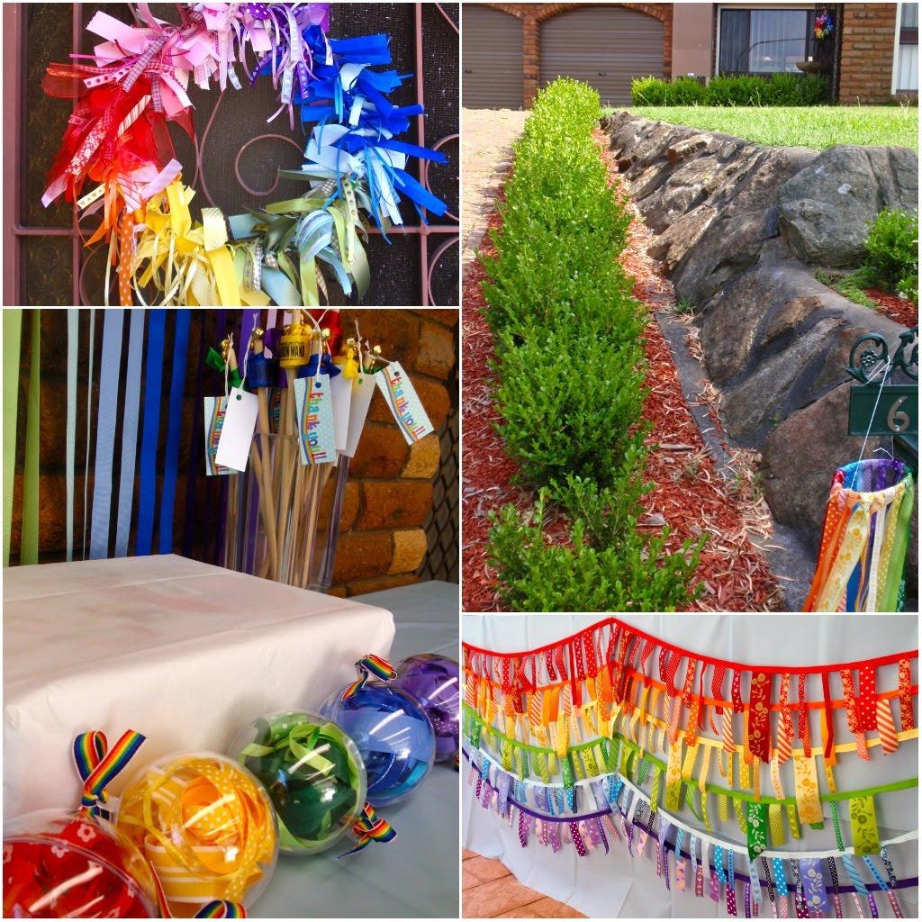My Little Pony Home Decor Rainbow Birthday Decorations Rainbow Birthday Party