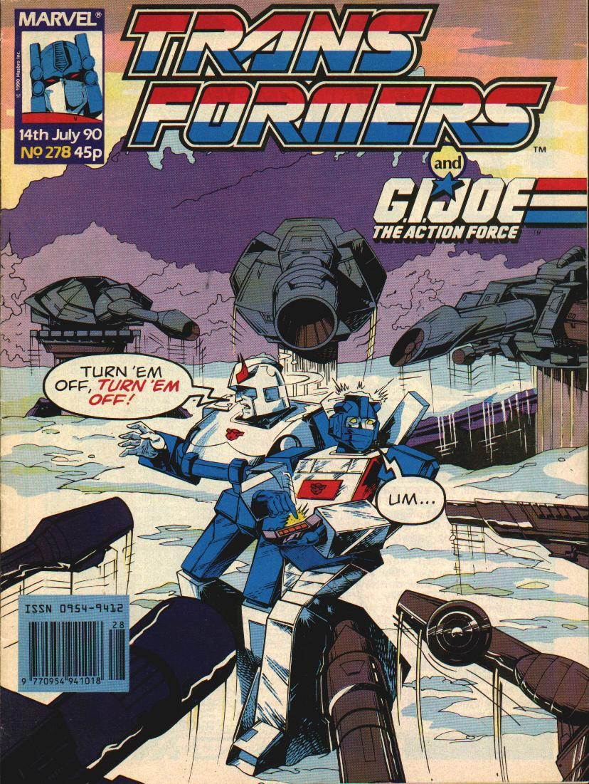 The Transformers (UK) 278 Page 1
