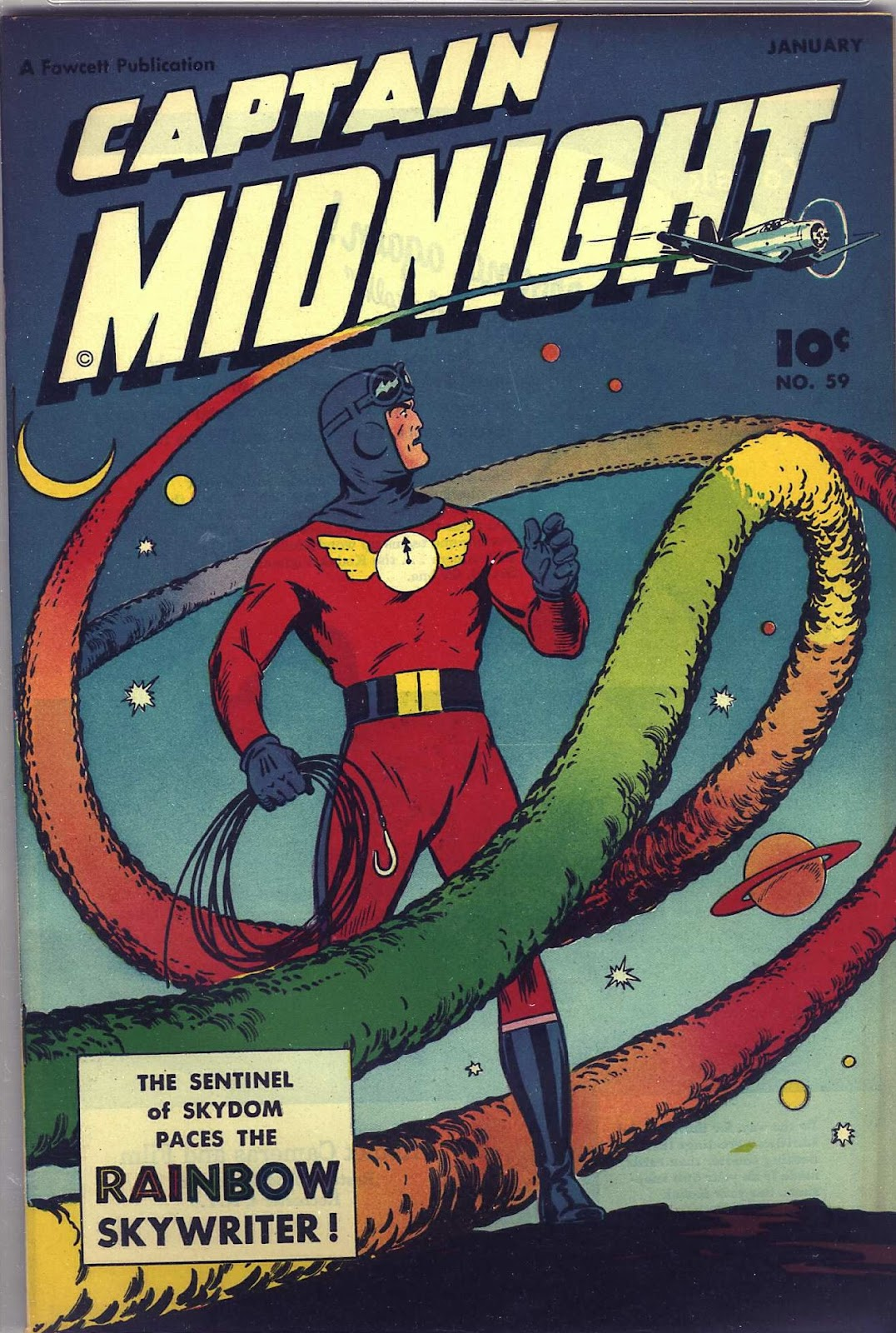 Captain Midnight (1942) 59 Page 1
