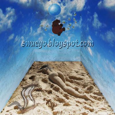 Сюрреалистическая фотоманипуляция в Фотошопе