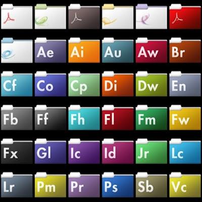 Иконки Adobe скачать бесплатно.