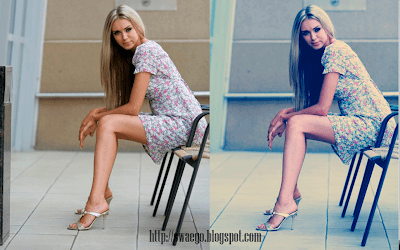 Замена цвета на фото