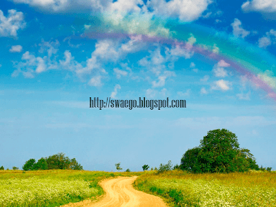 Как сделать радугу в Фотошопе?