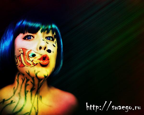 Создание абстрактного космического постера в Photoshop CS5.