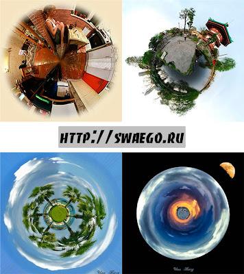Стереографическая проекция или как создать круговую панораму в Photoshop CS5.