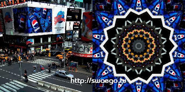 Бесплатный плагин Калейдоскоп для создания паттернов для Photoshop CS5