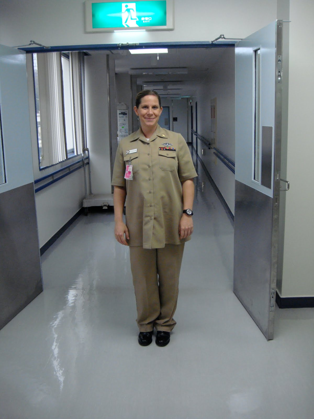 Navy Maternity Uniform 104