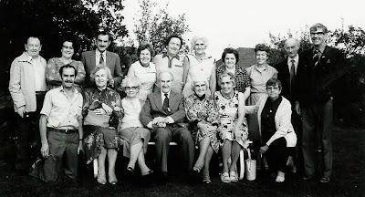 Pask Family Gathering in Great Gonerby Lincolnshire August 1981