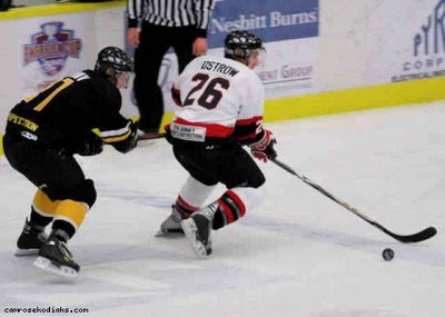(above) Shawn Ostrow was expected to be one of the leading scorers in the  AJHL this season 3c3f3353c