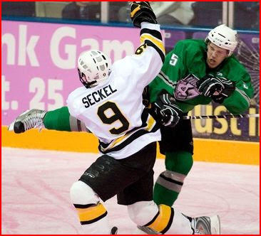 (above) DU recruit Matt Donovan ( 5) has become one of the best players in  the USHL 6d4be1a25