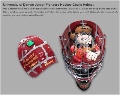 LetsGoDU  Youth Hockey Goalie Orders Boone Helmet c8889b6c7
