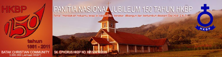HKBP: Panitia Nasional Jubileum 150 Tahun Huria Kristen