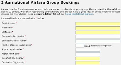 international airfare
