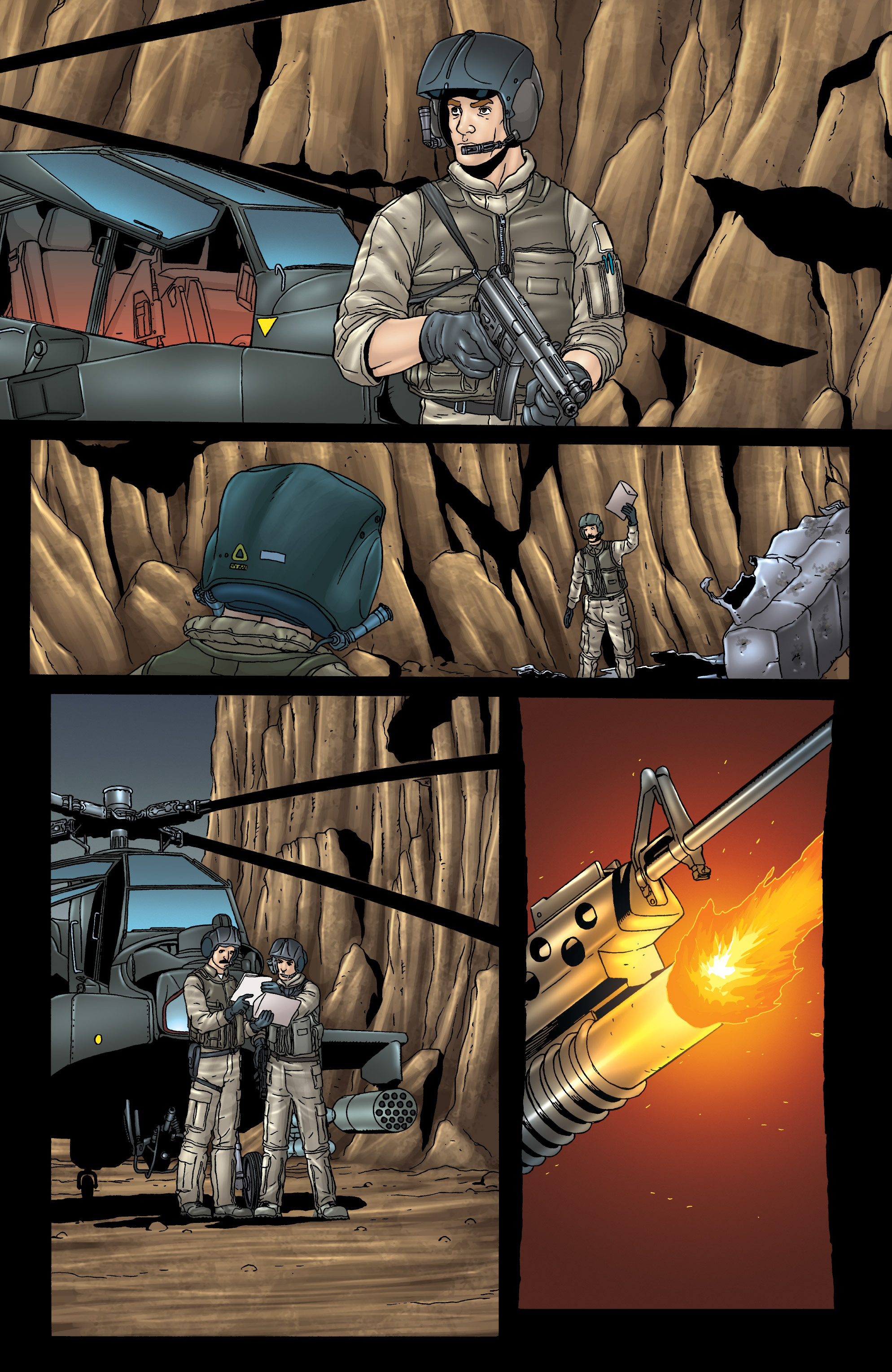 Read online 303 comic -  Issue #3 - 5