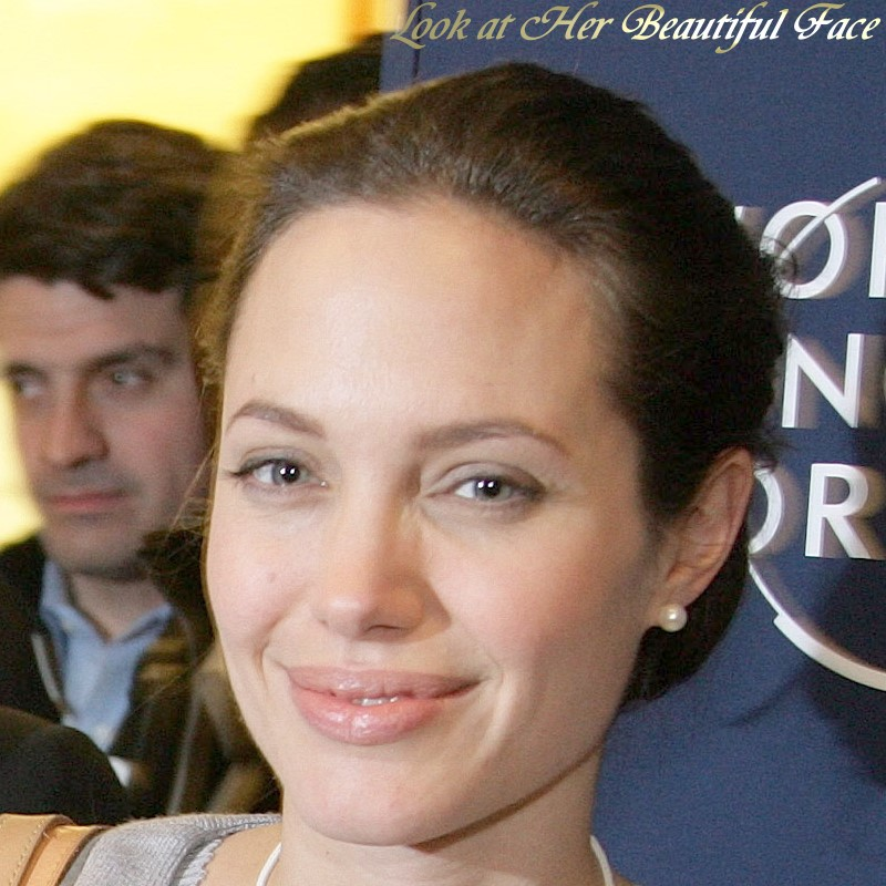 Angelina Jolie Beautiful Face ...
