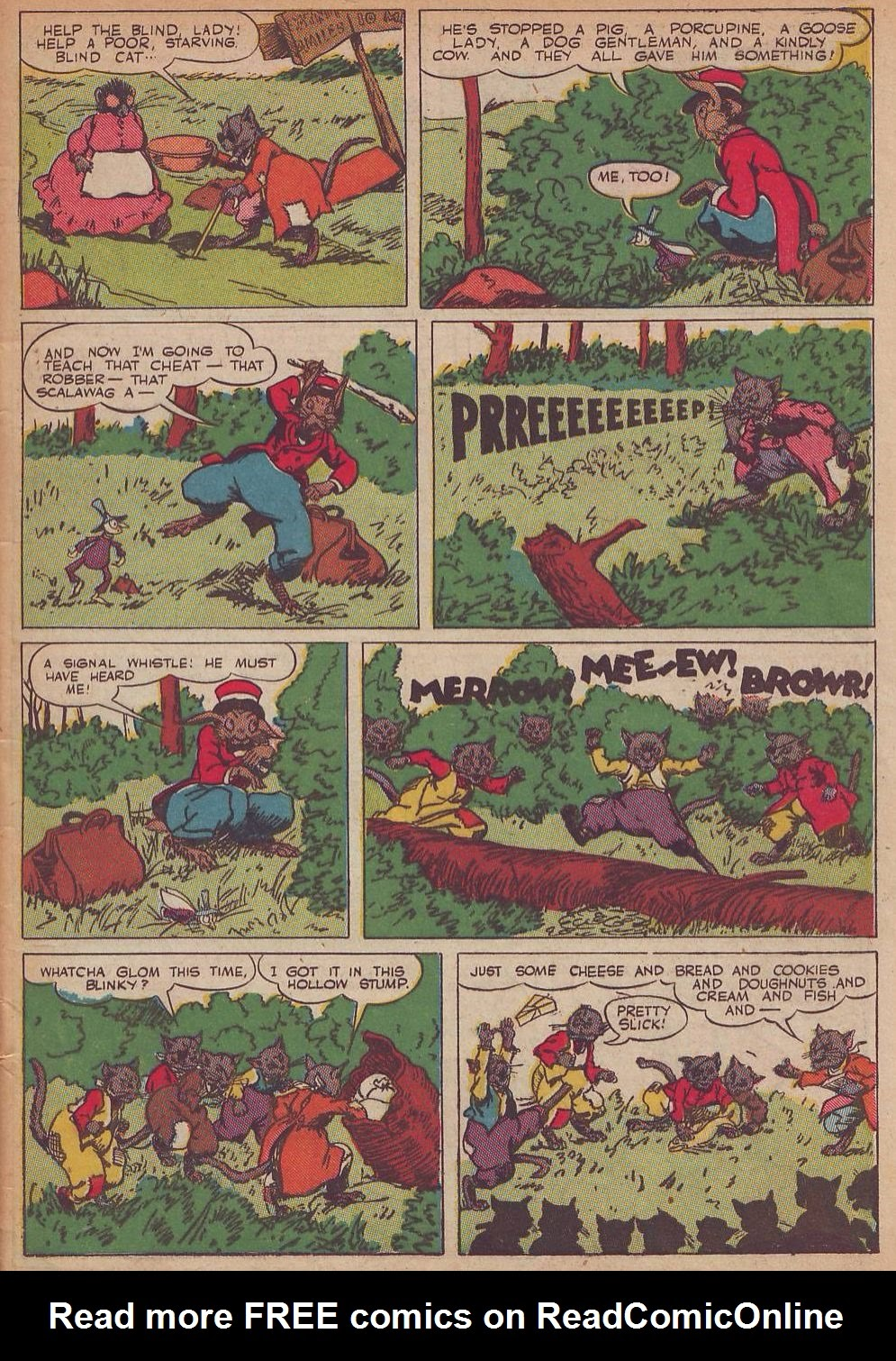 Read online Animal Comics comic -  Issue #21 - 5