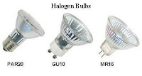 Incandescent and Halogen bulbs