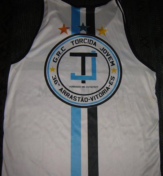 Fiz a camisa e escudo para da Torcida Jovem Grêmio de Vitória - ES b9622b8105809