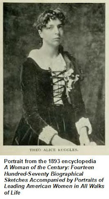 1893 portrait of Theo Alice Ruggles