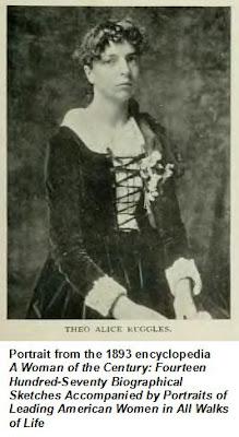 1893 portrait of Theo Alice Ruggles