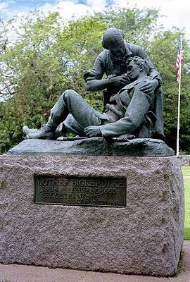 Theo Ruggles Kitson's statue of Civil War nurse Mary Bickerdyke