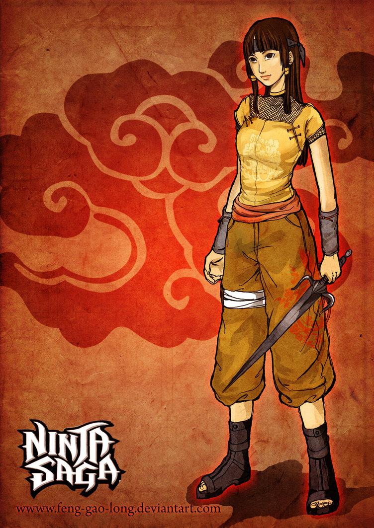 anime world: ninja saga team wallpaper