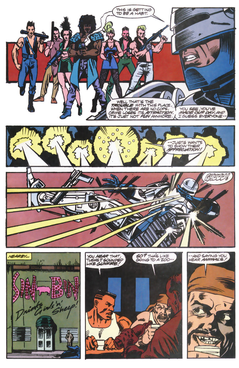 Read online Robocop (1990) comic -  Issue #12 - 18