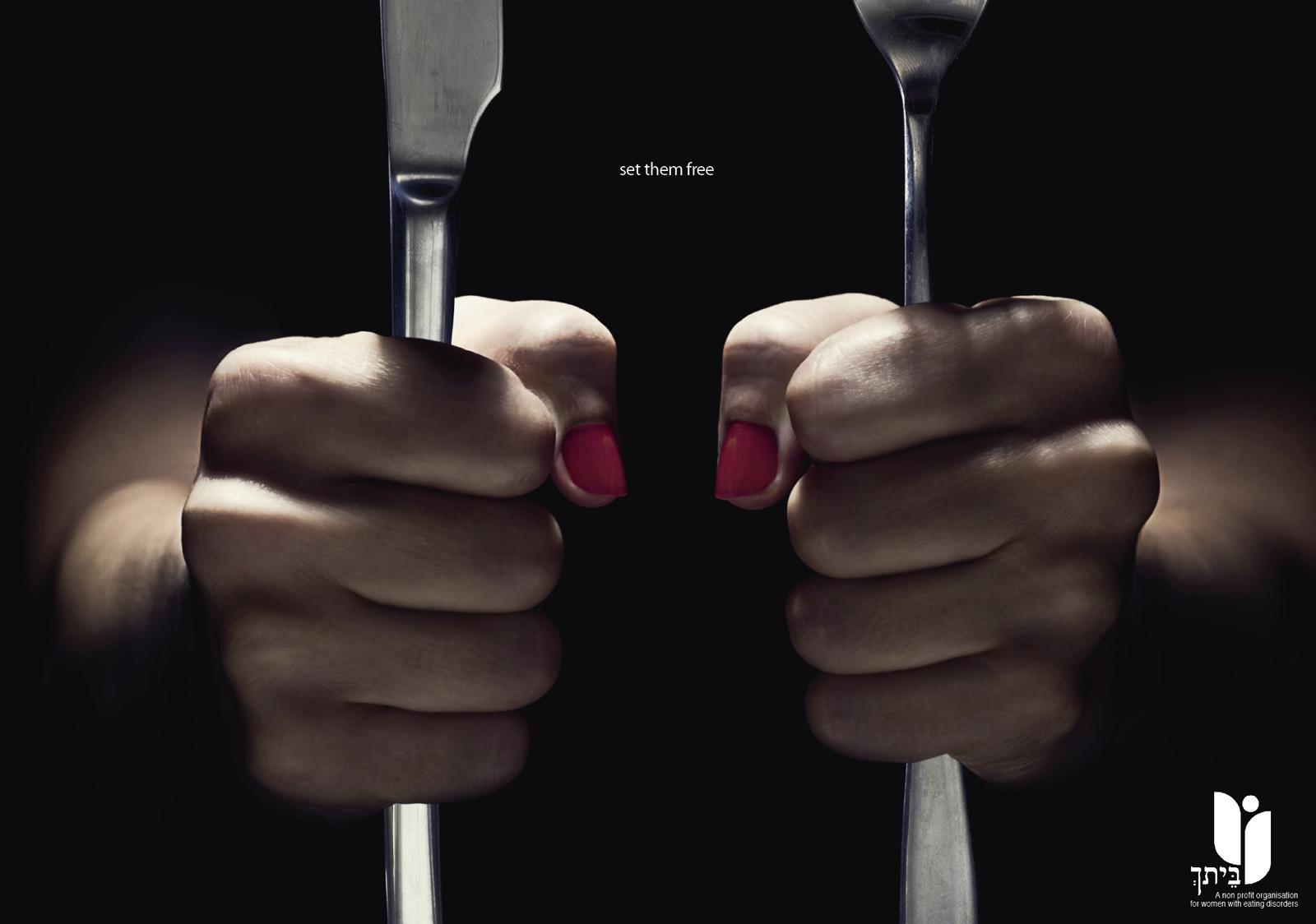 copyranter: Eating Disorder Ad of the Week.