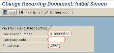 SAP e-mory: SAP FBD2 Delete Recurring item