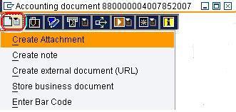 SAP e-mory: SAP Attach document to Journal Entry