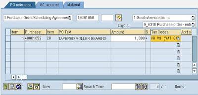 SAP e-mory: SAP MIRO Enter Purchase Invoice with PO