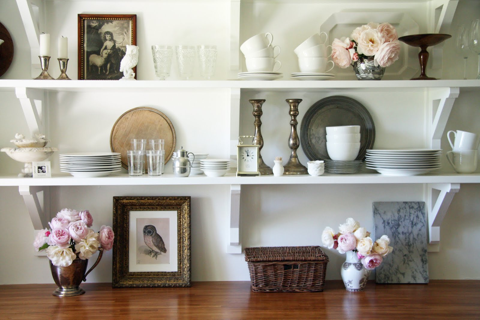 country shelves for kitchen painted gray cabinets the newlywed diaries truth about open